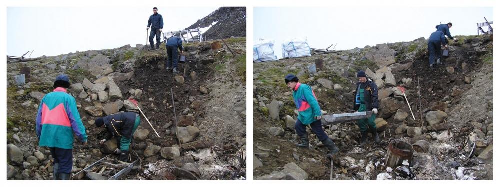 Денег нет даже убрать мусор, не то чтобы покорять арктические широты.