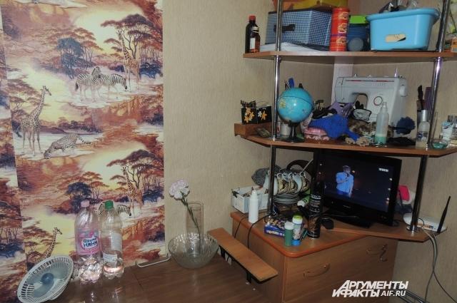 Весь мир Артёма ограничен его комнатой.