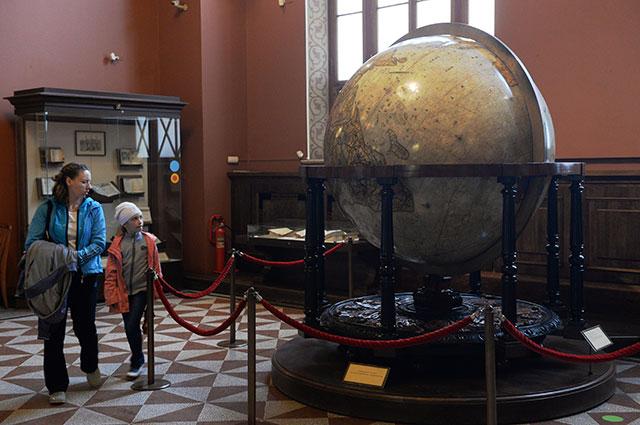 Земной глобус Блау.