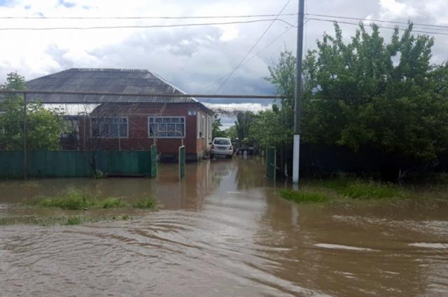 паводок в Адыгее, потоп