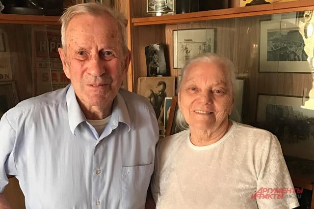 Юрий Шапошников с женой.