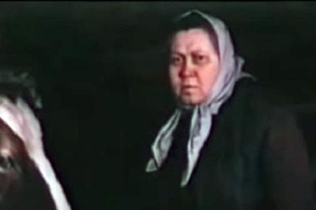 Галина Стаханова в фильме «Детский сад». 1983 г.