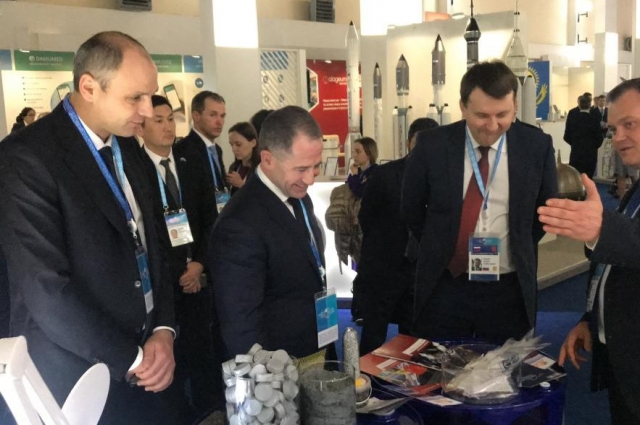 Оренбуржье представило на выставке в рамках форума продукцию передовых промышленных предприятий.