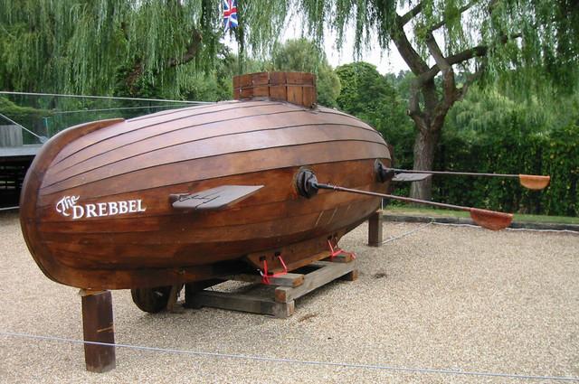 Современная реконструкция субмарины Дреббеля.
