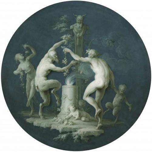 Дирк ван дер Аа. Сатиры и фавны танцующие перед святыней.