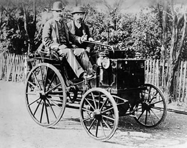 Автомобиль Panhard-Levassor, 1890—1895.