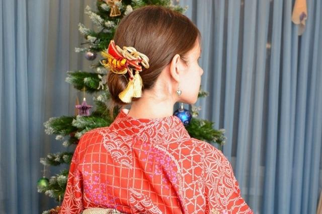 Кимоно на Новый год.