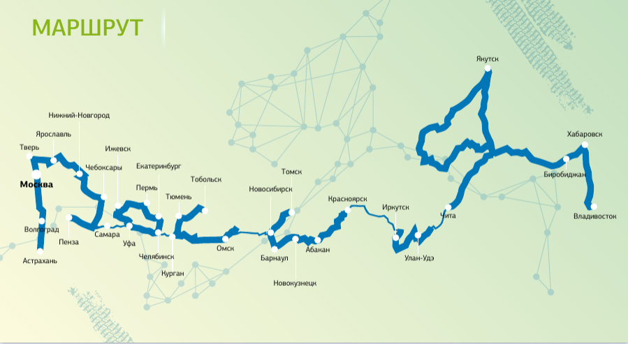 большому счету карта россии с маршрутами картинка других автомобилей