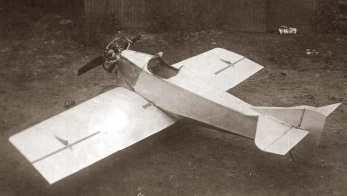 Одноместный самолёт АНТ-1