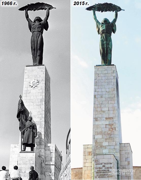 До и после: памятник нашему солдату совершенно обезличили