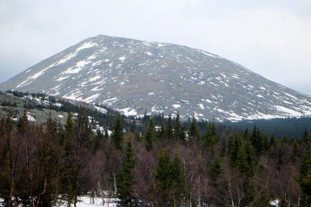 гора Еремель
