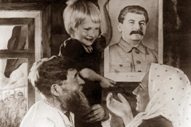 Иосиф Сталин, крестьяне, СССР