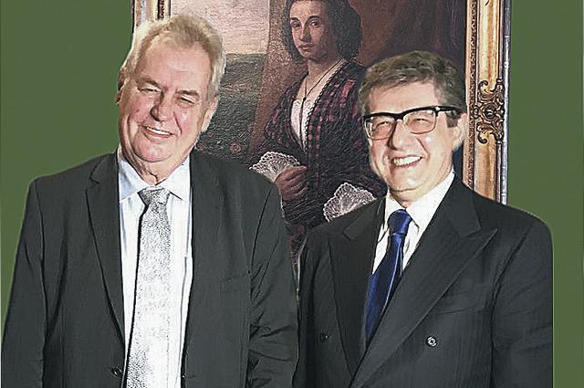 Милош Земан (слева) и Александр Звягинцев.