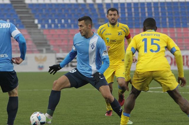 В Саранске «Крылья» играли без поддержки болельщиков.
