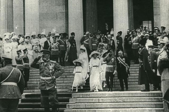 Музей изящных искусств им. Александра III открылся 31 мая (13 июня) 1912 г. в присутствии императора Николая II.