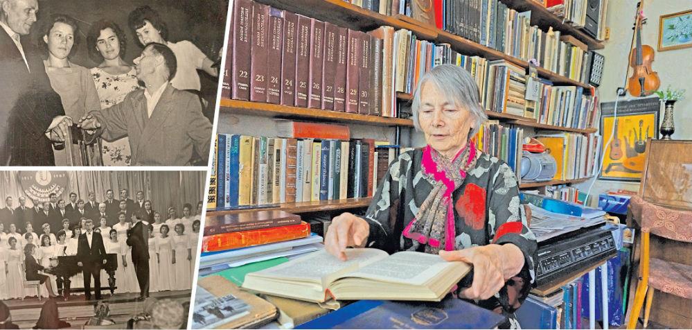 Ирина Аполлоновна говорит, что в её жизни многое решает случай. И всё-таки это закономерность, что она, физик по первому образованию, стала музыковедом и продолжила дело своего отца (рабочие фото Аполлона Васильевича слева). Музыка стала их общей любовью, одной на двоих.