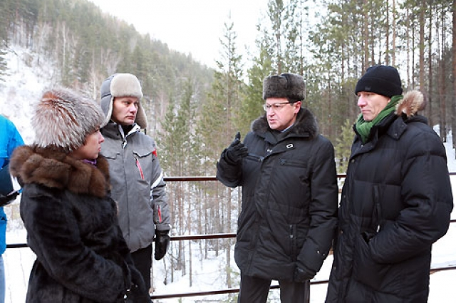 Эдхам Акбулатов провел выездную инспекцию нового маршрута.