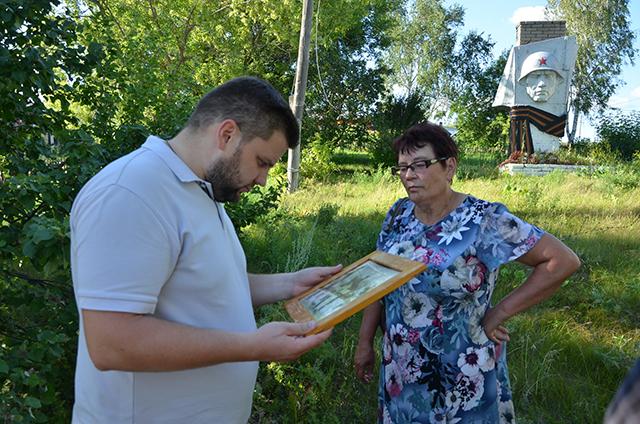 Александр Безбородько в родном селе.