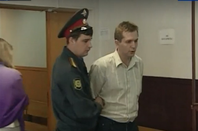 Владимир Макаров во время следствия.