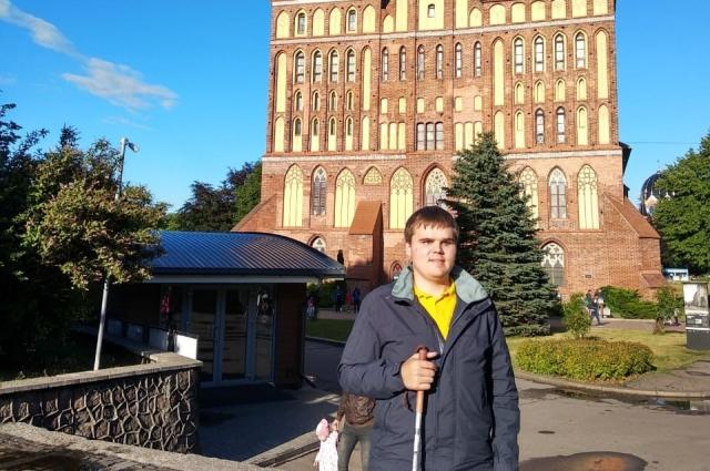 «Архитектуру можно потрогать руками». Владимир в Калининграде.