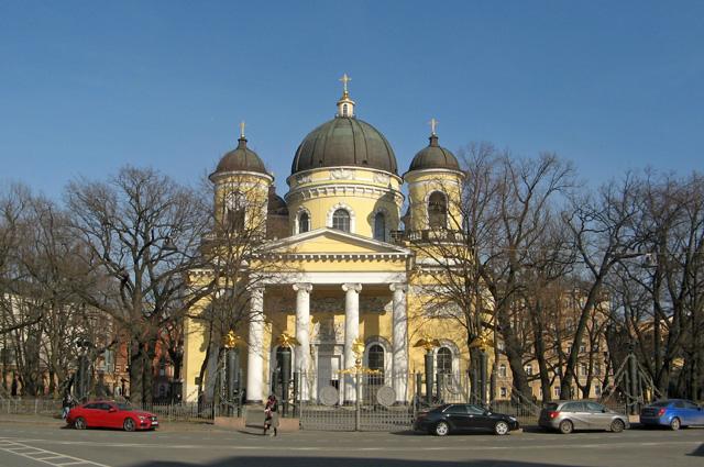 Спасо-Преображенский собор в Санкт-Петербурге.
