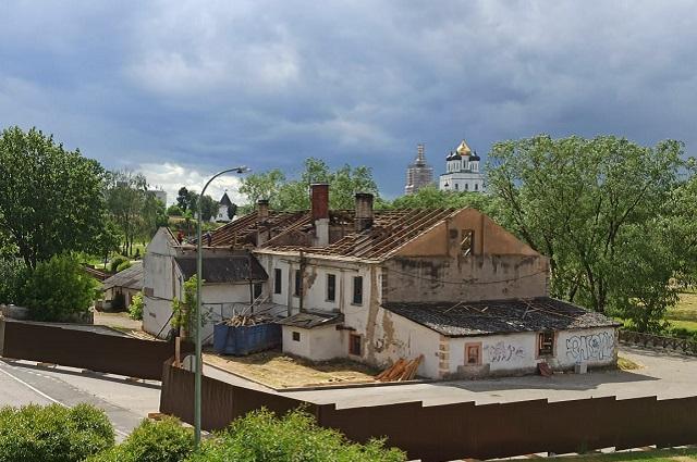 Гельдтова баня в Пскове