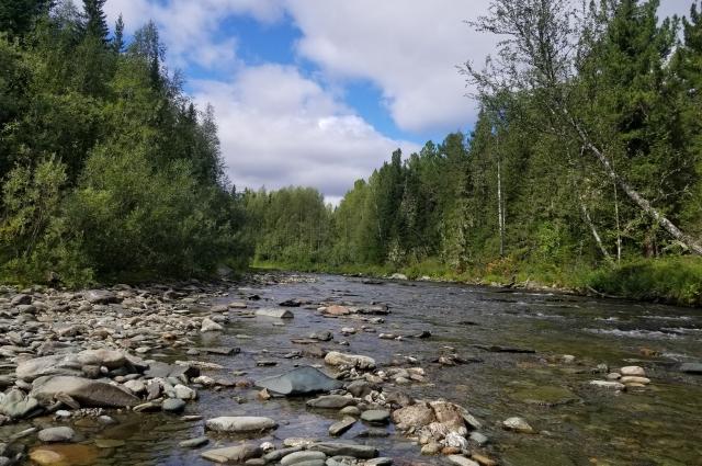 Горная река на подступах к Тумп-Капай.