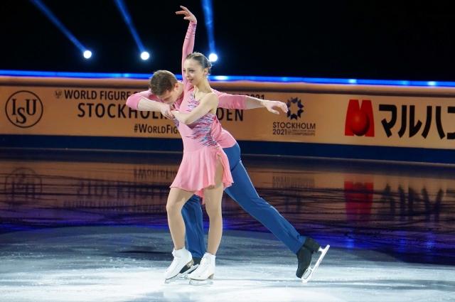 Александра Бойкова и Дмитрий Козловский удостоились бронзы чемпионата.