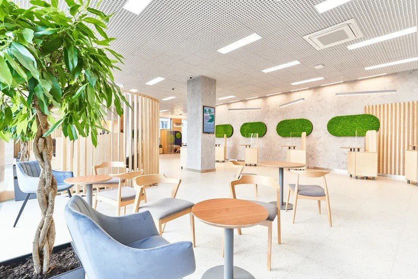 Кофе в ожидании услуги. Ак Барс Банк открыл в Казани офис нового формата