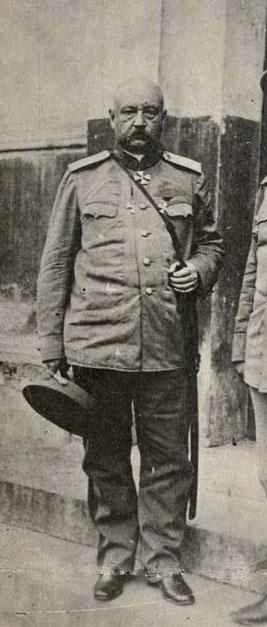 Генерал Николай Николаевич Юденич. 1910-е гг. Фото из фотоальбома Александра Погоста.