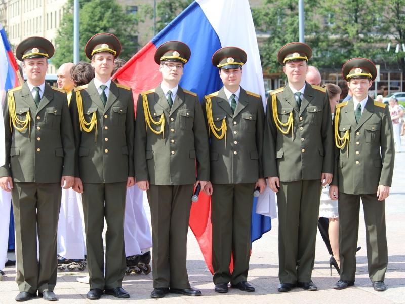 Все солисты Хора служили в армии