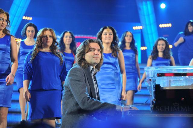Дмитрий Маликов на шоу Битва хоров