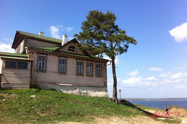 Свияжск, домик с видом на Волгу