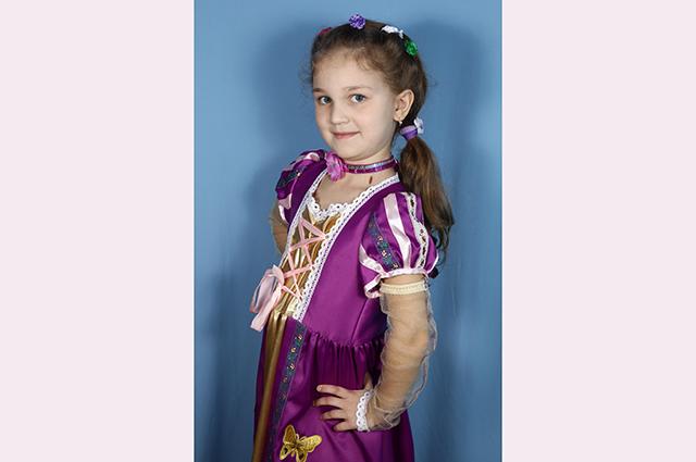 Участница конкурса Виктория.