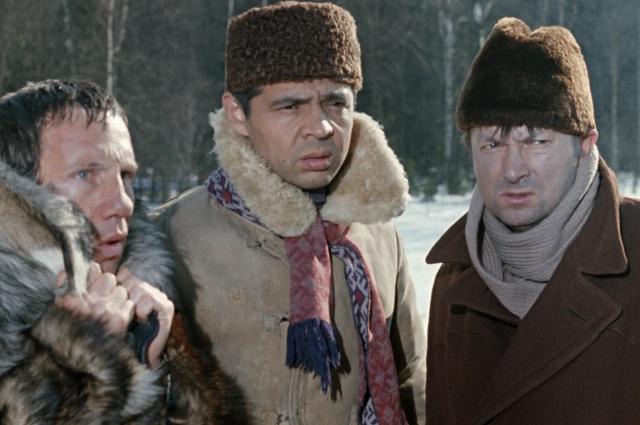 В «Джентльменах удачи» Георгий Вицин исполнил роль Хмыря, подельника «Доцента».