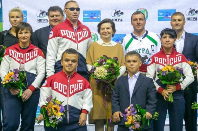 До участия на Всероссийских соревнованиях югорские атлеты пять месяцев находились на сборах.