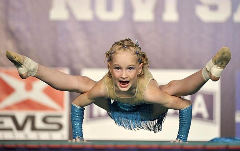 Анастасия - воспитанница двух челябинских спортивных школ.