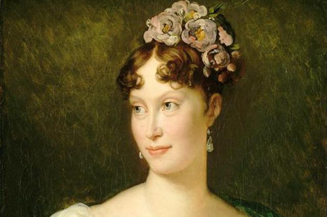 Мария-Луиза Австрийская, императрица Франции. ( ок 1810) Портрет кисти Франсуа Жерара.