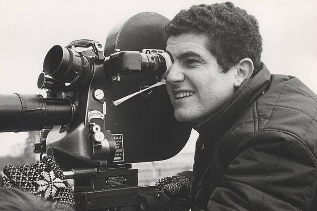 Клод Лелуш на съемках фильма «Мужчина и женщина».