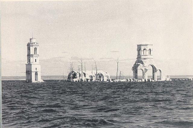 Молога - город, которого не стало в 1930-е годы.