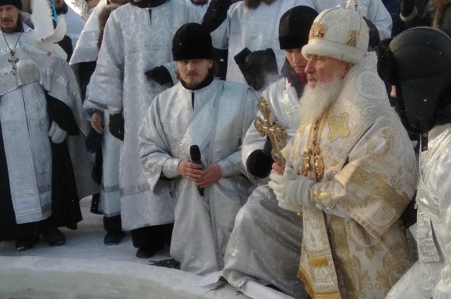 Крещение, Тобольск, 2018 г.