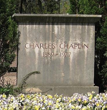 Могила Чаплина.