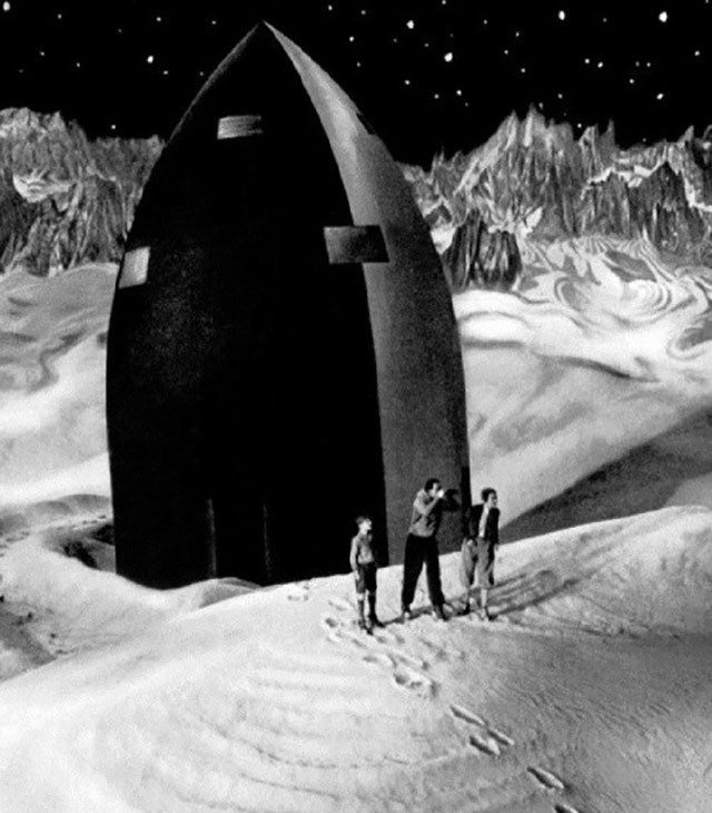 Кадр из фильма «Женщина на Луне», 1929 г.