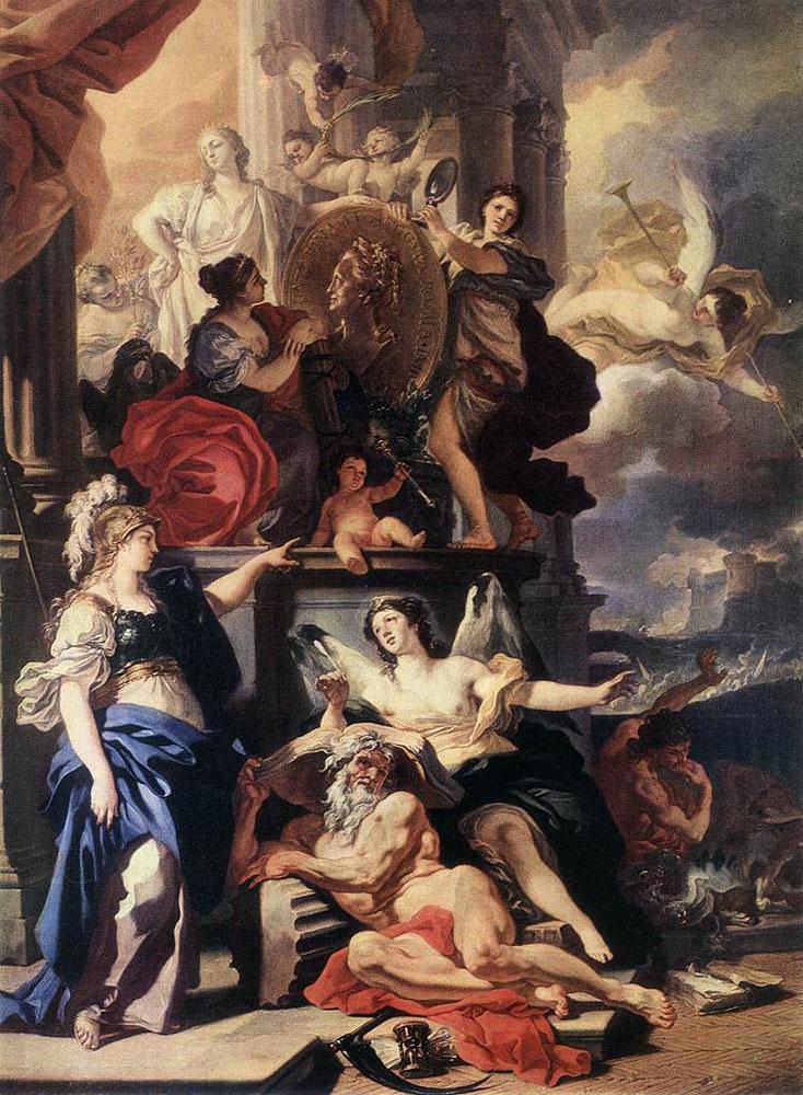 Франческо Солимена. Аллегория царствования.
