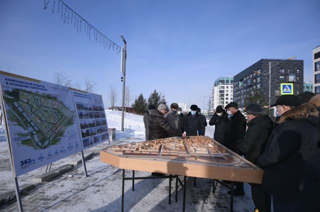 На площади в 362 гектара в новом микрорайоне возводятся дома высотой до 16 этажей.