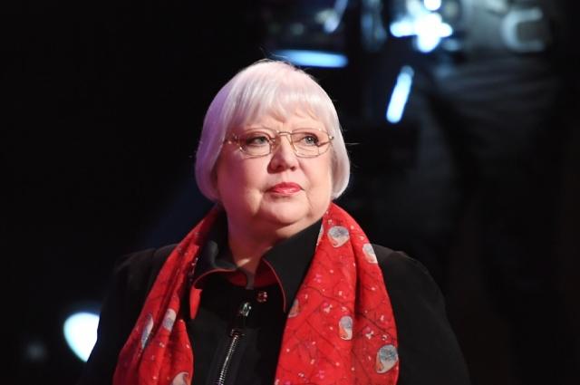Актриса театра и кино, народная артистка России Светлана Крючкова.