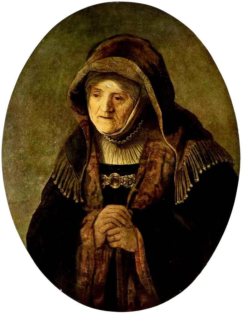 «Портрет матери». 1639 год.