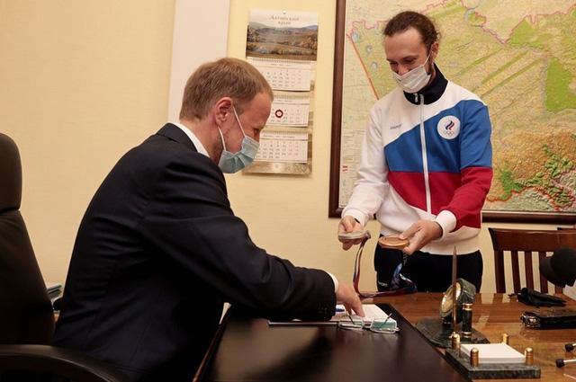 Сергей Каменский и Виктор Томенко