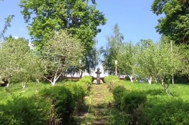 Яблочный сад в усадьбе Андрея Болотова в Дворяниново