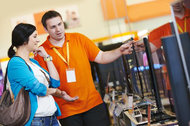 Телевизоры - самые популярные товары у белорусов.
